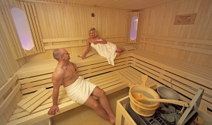 Wellness-Sauna